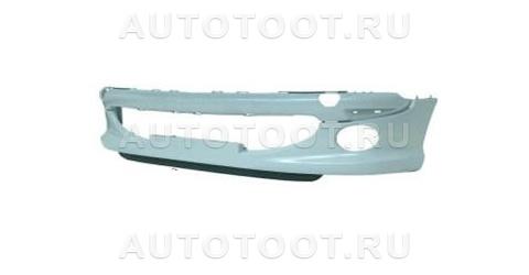 Бампер передний (с отверстиями под противотуманки, sport) Peugeot 206 2003-2010 год / I