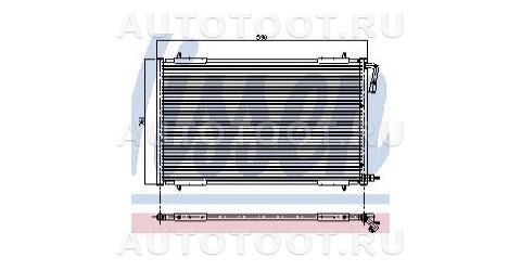 Радиатор кондиционера Peugeot 206 1998-2003 год / I