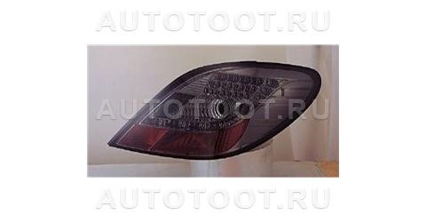 Фонарь задний левый+правый (комплект, тюнинг, хрусталь, с диодами, тонированный) Peugeot 207 2006-2010 год / I