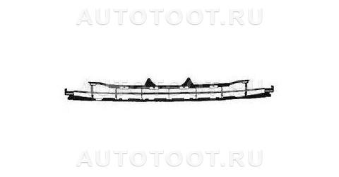 Решетка переднего бампера верхняя Peugeot 207 2006-2010 год / I
