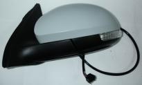 Зеркало левое (электрическое, с подогревом, с указателем поворота, с автоскладыванием, с подсветкой, асферическое) VOLKSWAGEN TIGUAN 2008-2011 год / I