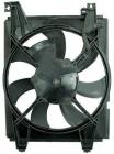 Диффузор радиатора кондиционера (рамка+мотор+вентилятор) HYUNDAI ELANTRA 2000-2003 год / III