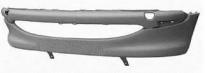 Бампер передний (без отверстий под противотуманки) PEUGEOT 206 1998-2003 год / I