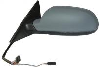 Зеркало левое (электрическое, 16 контактов, 4-х дверный, Sportback, с подогревом, указателем поворота, автоскладыванием, с памятью) AUDI A5 2007-2011 / B8