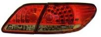 Фонарь задний+вставка, левый+правый (тюнинг, комплект, диодный, красный) LEXUS ES300 2002-2006 год / MCV3