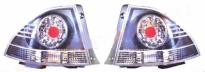 Фонарь задний левый + правый (комплект, тюнинг, хром, диодный) LEXUS IS200 1998-2005 год / XE10