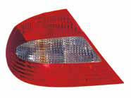 Фонарь задний левый (красный-тонированный) MERCEDES CLK-CLASS 2002-2010 год / W209
