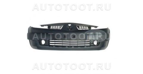 Бампер передний (в сборе с молдингами, решеткой радиатора, без усилителя) Renault Megane 2003-2006 год / II