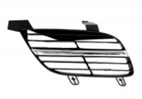 Решетка радиатора правая (с хромированным молдингом) NISSAN ALMERA 2000-2002 год / N16
