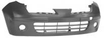 Бампер передний (с отверстиями под противотуманки) NISSAN MARCH 2005-2007 год / К12
