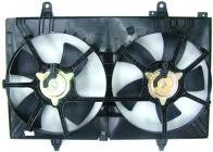 Диффузор радиатора в сборе (мотор+рамка+вентилятор) NISSAN MURANO 2003-2005 год / Z50