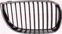 Решетка радиатора правая (хром, черная) BMW 1SERIES 2004-2006 год / Е87