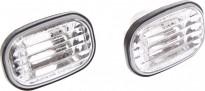 Повторитель поворота в крыло левый+правый (комплект, хрусталь) TOYOTA CORONA 1992-1993 год / T19