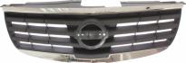 Решетка радиатора (черная с хромом) NISSAN ALMERA CLASSIC 2006-2012 год / B10