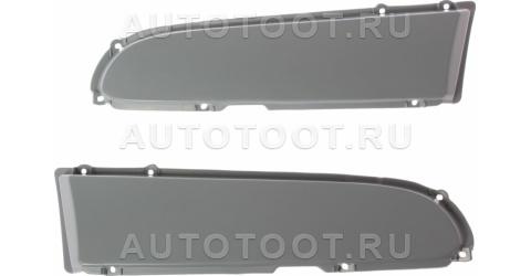 Заглушка переднего бампера левая+правая (комплект) Peugeot 406 1999-2004 год / I