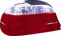 Фонарь задний левый (хрусталь, красно-белый) BMW 7SERIES 1995-1998 год / Е38