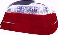 Фонарь задний правый (хрусталь, красно-белый) BMW 7SERIES 1995-1998 год / Е38