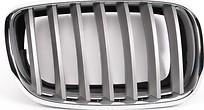 Решетка радиатора правая (хром, серая) BMW X6 2008-2014 год / E71