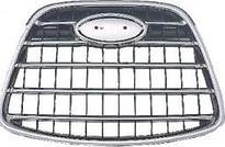 Решетка радиатора центральная (хром, черная) SUBARU TRIBECA 2006-2008 год / W10
