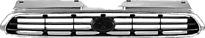 Решетка радиатора (серебристо-черная) SUBARU  LEGACY 1993-1999 год / BD, BG, BK