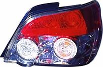 Фонарь задний правый (седан, внутри хромированный) SUBARU IMPREZA  2005-2007 год / GD, GG