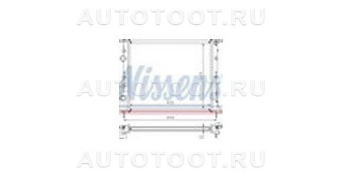 Радиатор охлаждения  Renault Kangoo  1997-2003 год / I