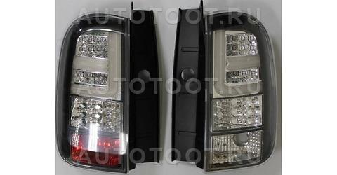 Фонарь задний правый+левый (комплект, тюнинг, диодный, внутри хром) Renault Duster 2010-2014 год / I