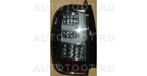 Фонарь задний правый+левый (комплект, тюнинг, диодный, внутри черный) Renault Duster 2010-2014 год / I
