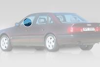 Стекло переднее левое опускное AUDI 100 1991-1994 год / 4A,C4