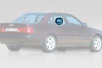 Стекло заднее правое опускное AUDI A6 1994-1997 год / C4