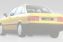 Стекло переднее левое опускное AUDI 80 1987-1991 год / B3