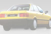 Стекло переднее правое опускное AUDI 80 1987-1991 год / B3
