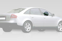 Стекло переднее правое опускное AUDI A6 1997-2001 год / C5