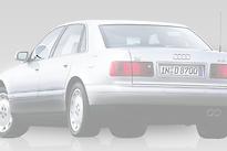 Стекло переднее левое опускное AUDI A8 1994-1999 год / D2