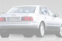Стекло заднее правое опускное AUDI A8 1994-1999 год / D2