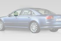 Стекло переднее левое опускное AUDI A8 2003-2005 год / D3