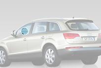 Стекло переднее левое опускное AUDI Q7 2005-2010 год / 4LB