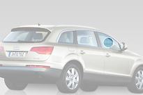 Стекло переднее правое опускное AUDI Q7 2005-2010 год / 4LB