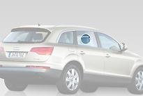 Стекло заднее правое опускное AUDI Q7 2005-2010 год / 4LB