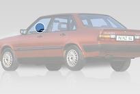 Стекло переднее левое опускное AUDI 80 1978-1984 год / B2