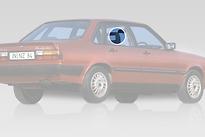 Стекло заднее правое опускное AUDI 80 1978-1984 год / B2