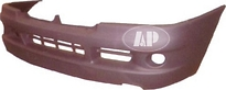 Бампер передний (с отверстиями под противотуманки) FIAT  DUCATO 2002-2005 год / II