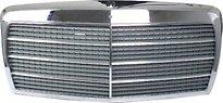 Решетка радиатора  (хром,черная) MERCEDES S-CLASS 1979-1991 год / W126