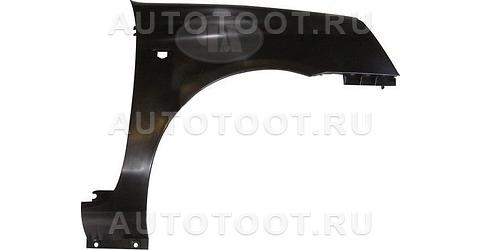 Крыло переднее правое (пластик) Renault Clio 2001-2005 год / II