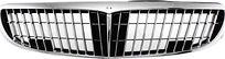 Решетка радиатора (черная с хромом) NISSAN CEFIRO 1998-2003  год / A33