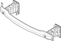 Усилитель переднего бампера BMW X6 2008-2014 год / E71