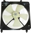 Диффузор радиатора охлаждения в сборе (мотор+рамка+вентилятор, 1.6L 1.8L 2L) TOYOTA CALDINA 1997-1999 год / Т21