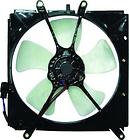 Диффузор радиатора охлаждения в сборе (мотор+рамка+вентилятор) TOYOTA SPRINTER MARINO 1992-1998 год / Е10
