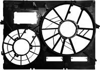 Рамка диффузора радиатора охлаждения AUDI Q7 2005-2010 год / 4LB