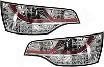 Фонарь задний левый+правый (комплект, тюнинг, диодный) AUDI Q7 2005-2010 год / 4LB